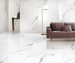 Statuario Plus Polished 90x90x1,05 (QI9P530M)
