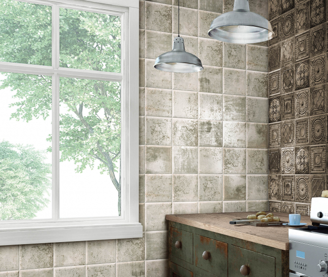 Tin-Tile Grey 20x20