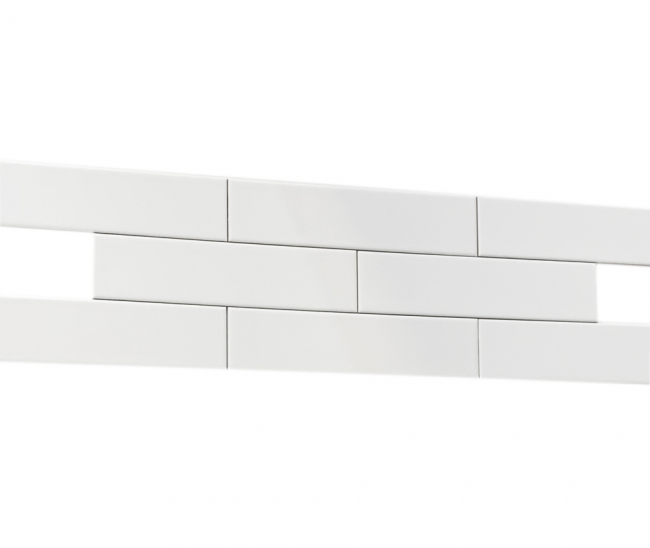 Brick White Gloss 6,5x26,5